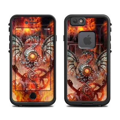 Lifeproof iPhone 6 Fre Case Skin - Furnace Dragon