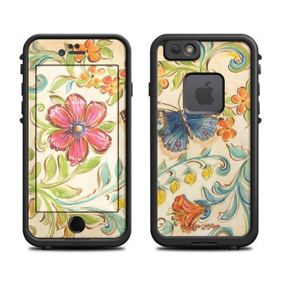 Lifeproof iPhone 6 Fre Case Skin - Garden Scroll