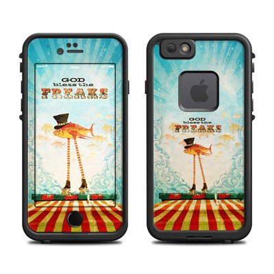Lifeproof iPhone 6 Fre Case Skin - God Bless The Freaks