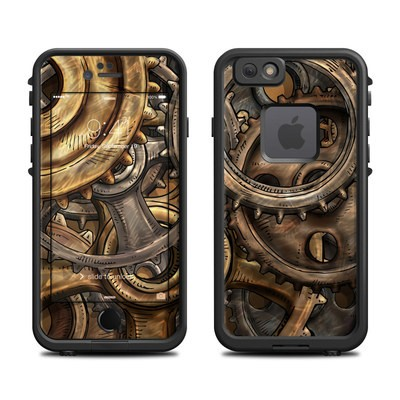 Lifeproof iPhone 6 Fre Case Skin - Gears