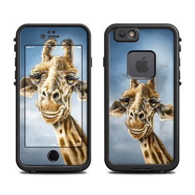 Lifeproof iPhone 6 Fre Case Skin - Giraffe Totem