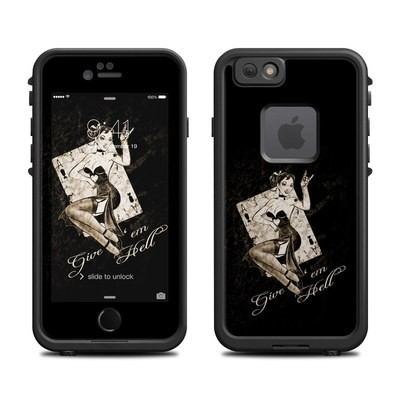Lifeproof iPhone 6 Fre Case Skin - Give Em Hell
