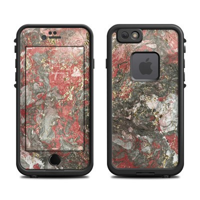 Lifeproof iPhone 6 Fre Case Skin - Gilded Magma Marble