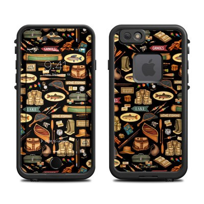 Lifeproof iPhone 6 Fre Case Skin - Gone Fishing