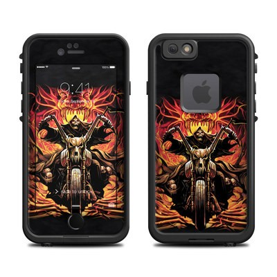 Lifeproof iPhone 6 Fre Case Skin - Grim Rider