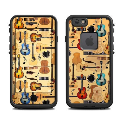 Lifeproof iPhone 6 Fre Case Skin - Guitar Collage