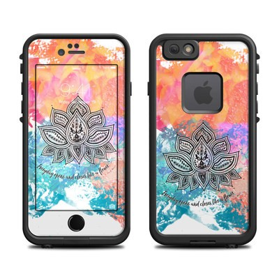 Lifeproof iPhone 6 Fre Case Skin - Happy Lotus