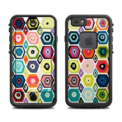 Lifeproof iPhone 6 Fre Case Skin - Hex Diamond