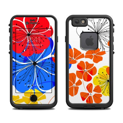 Lifeproof iPhone 6 Fre Case Skin - Hibiscus Dance
