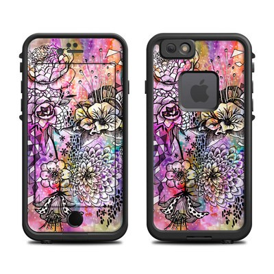 Lifeproof iPhone 6 Fre Case Skin - Hot House Flowers