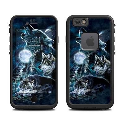 Lifeproof iPhone 6 Fre Case Skin - Howling