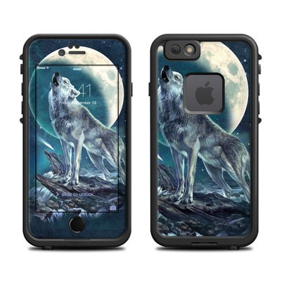 Lifeproof iPhone 6 Fre Case Skin - Howling Moon Soloist