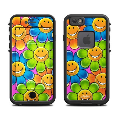 Lifeproof iPhone 6 Fre Case Skin - Happy Daisies