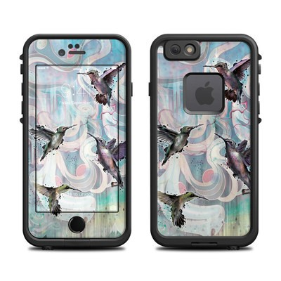 Lifeproof iPhone 6 Fre Case Skin - Hummingbirds