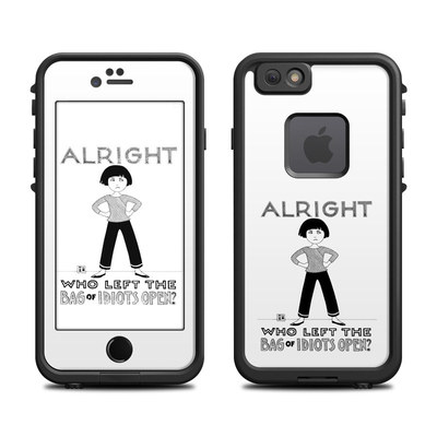 Lifeproof iPhone 6 Fre Case Skin - Bag of Idiots