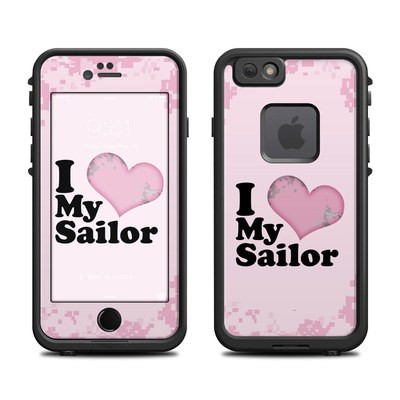 Lifeproof iPhone 6 Fre Case Skin - I Love My Sailor