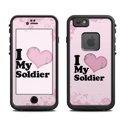 Lifeproof iPhone 6 Fre Case Skin - I Love My Soldier
