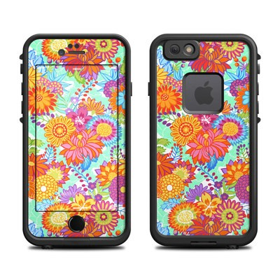 Lifeproof iPhone 6 Fre Case Skin - Jubilee Blooms