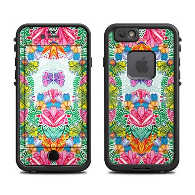 Lifeproof iPhone 6 Fre Case Skin - Jungle Flowers