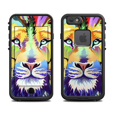 Lifeproof iPhone 6 Fre Case Skin - King of Technicolor