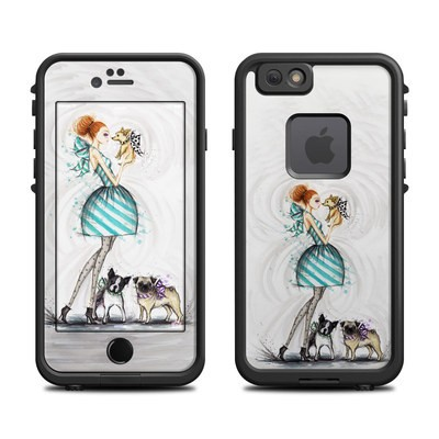 Lifeproof iPhone 6 Fre Case Skin - A Kiss for Dot