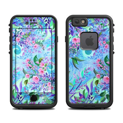 Lifeproof iPhone 6 Fre Case Skin - Lavender Flowers