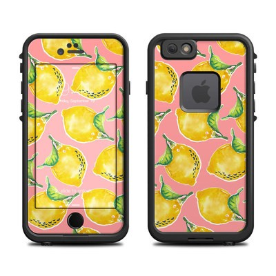 Lifeproof iPhone 6 Fre Case Skin - Lemon