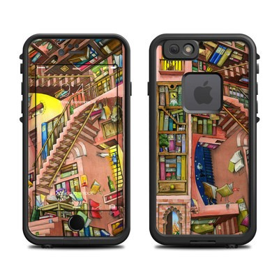 Lifeproof iPhone 6 Fre Case Skin - Library Magic