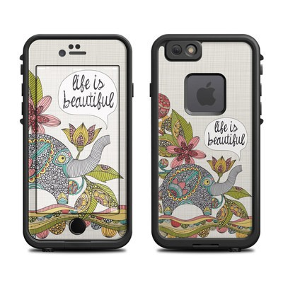 Lifeproof iPhone 6 Fre Case Skin - Life is Beautiful