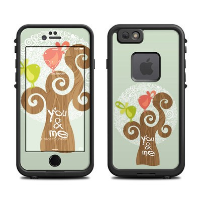 Lifeproof iPhone 6 Fre Case Skin - Two Little Birds