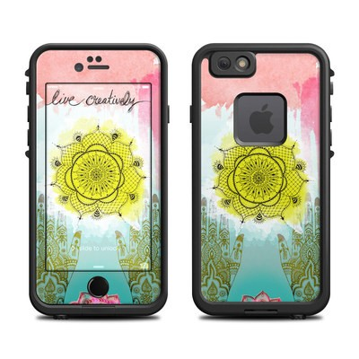 Lifeproof iPhone 6 Fre Case Skin - Live Creative
