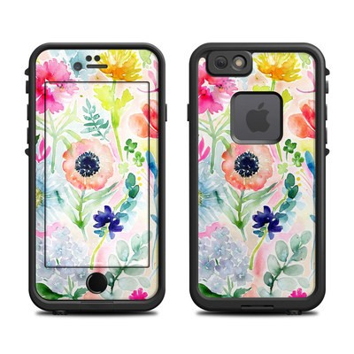 Lifeproof iPhone 6 Fre Case Skin - Loose Flowers