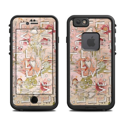 Lifeproof iPhone 6 Fre Case Skin - Love Floral
