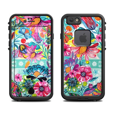 Lifeproof iPhone 6 Fre Case Skin - Lovely Garden