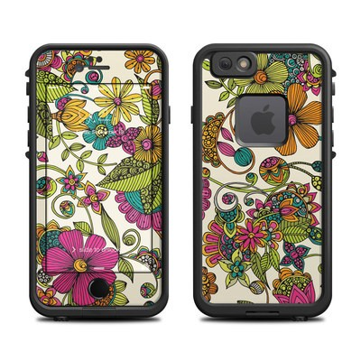 Lifeproof iPhone 6 Fre Case Skin - Maia Flowers