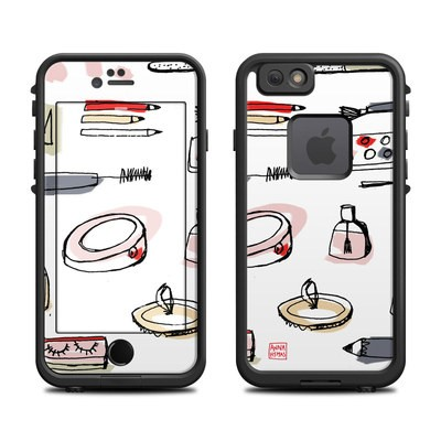 Lifeproof iPhone 6 Fre Case Skin - Makeup
