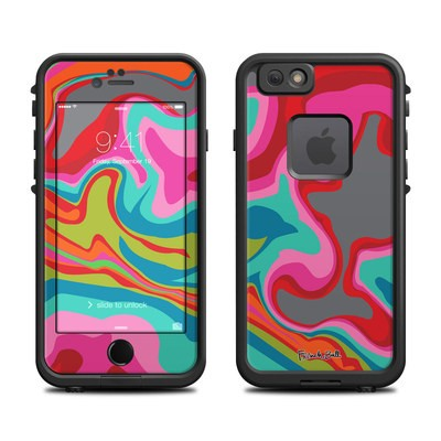 Lifeproof iPhone 6 Fre Case Skin - Marble Bright