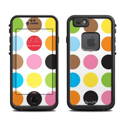 Lifeproof iPhone 6 Fre Case Skin - Multidot