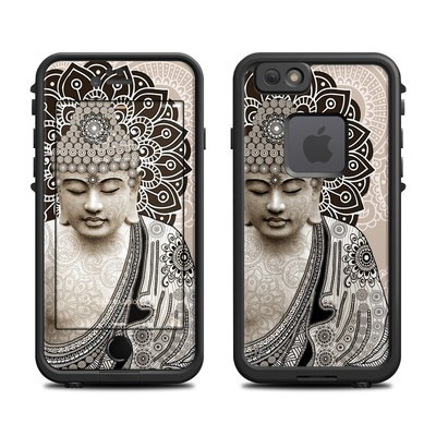 Lifeproof iPhone 6 Fre Case Skin - Meditation Mehndi