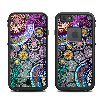 Lifeproof iPhone 6 Fre Case Skin - Mehndi Garden