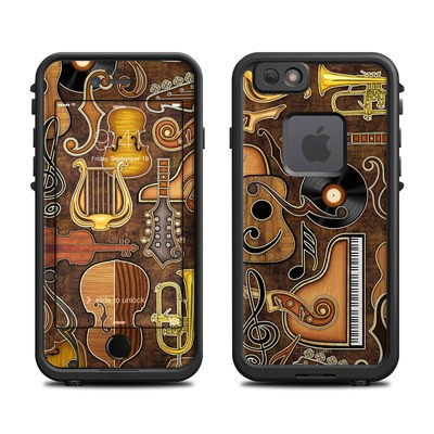 Lifeproof iPhone 6 Fre Case Skin - Music Elements