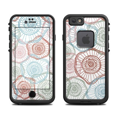 Lifeproof iPhone 6 Fre Case Skin - Micro Flowers