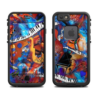 Lifeproof iPhone 6 Fre Case Skin - Music Madness