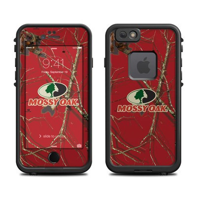 Lifeproof iPhone 6 Fre Case Skin - Break-Up Lifestyles Red Oak