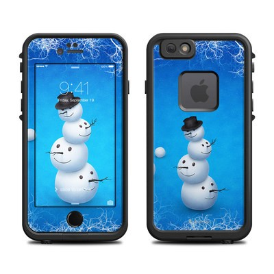 Lifeproof iPhone 6 Fre Case Skin - Merry Snowman