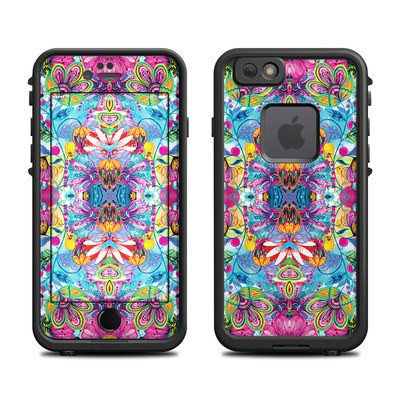 Lifeproof iPhone 6 Fre Case Skin - Multicolor World