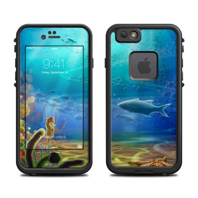 Lifeproof iPhone 6 Fre Case Skin - Ocean Life