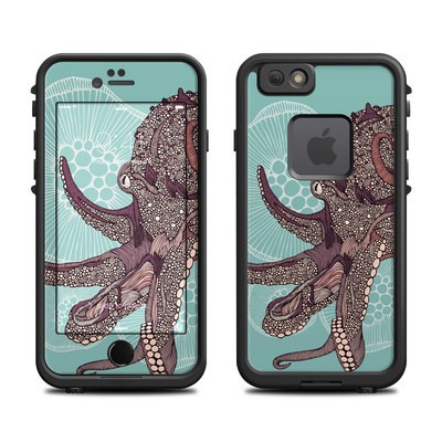 Lifeproof iPhone 6 Fre Case Skin - Octopus Bloom