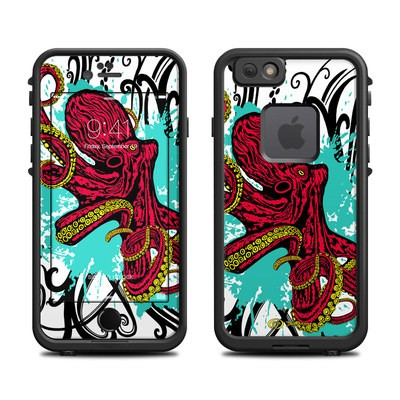 Lifeproof iPhone 6 Fre Case Skin - Octopus