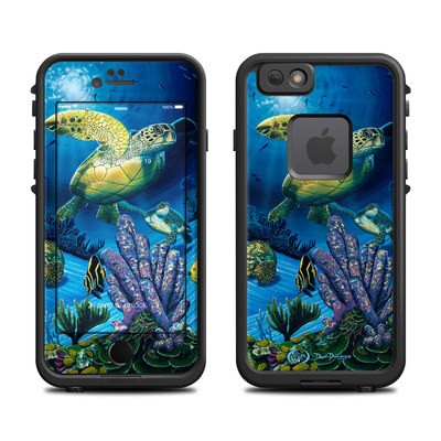 Lifeproof iPhone 6 Fre Case Skin - Ocean Fest